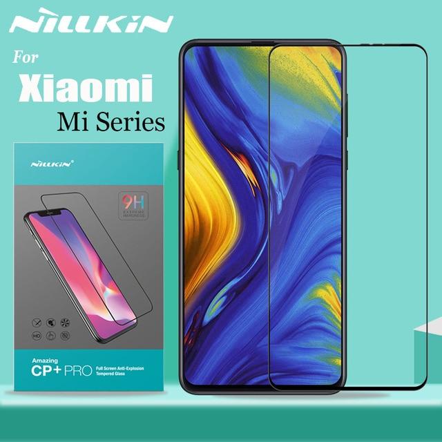 シャオ mi mi 9 SE 9T プロ mi x3 A3 ガラススクリーンプロテクター Nillkin フルカバー強化ガラスシャオ mi mi 9 mi 9T mi 8 Lite mi × 3