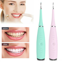 New Oral Electric Ultrasonic Sonic Dental Scaler Tooth Calculus Remover Cleaner Stains Tartar Tool Whiten Teeth Tartar Removal