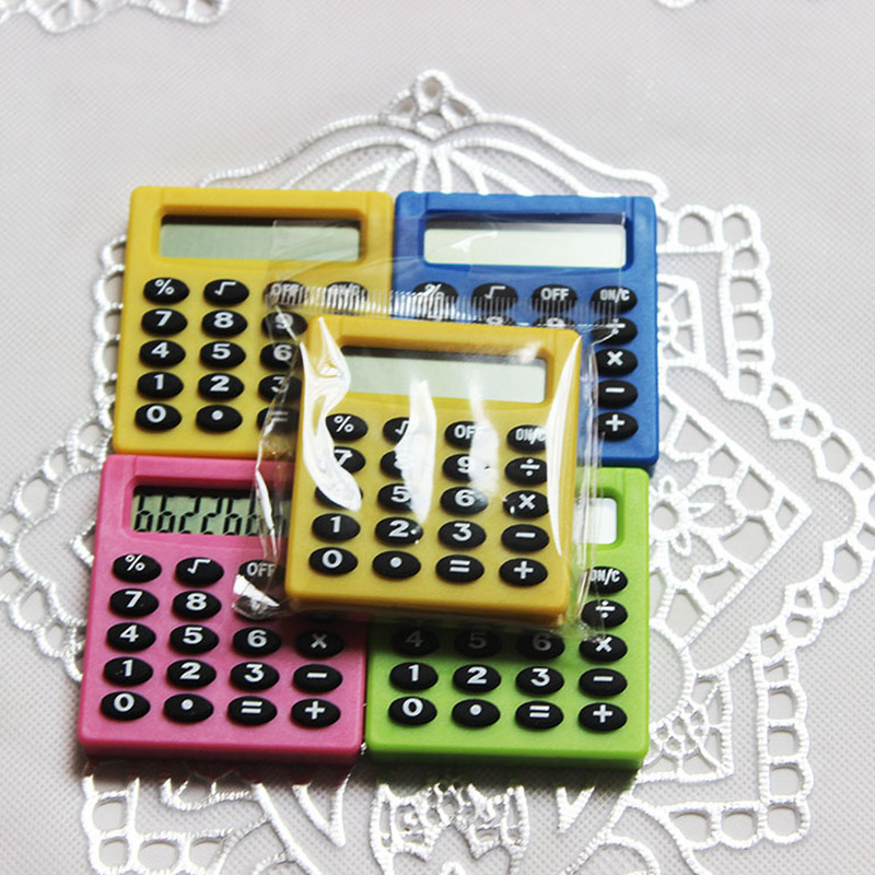Useful Calculator Stationery Set Candy Color Stationery Set For Kids Gifts Study School Office Supplies Novelty Stationery