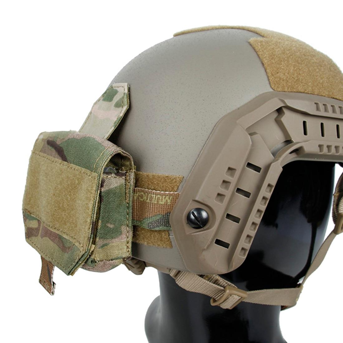 TMC Helmet Battery Pouch Multicam Battery Case Storage Bag - Type A Camouflage