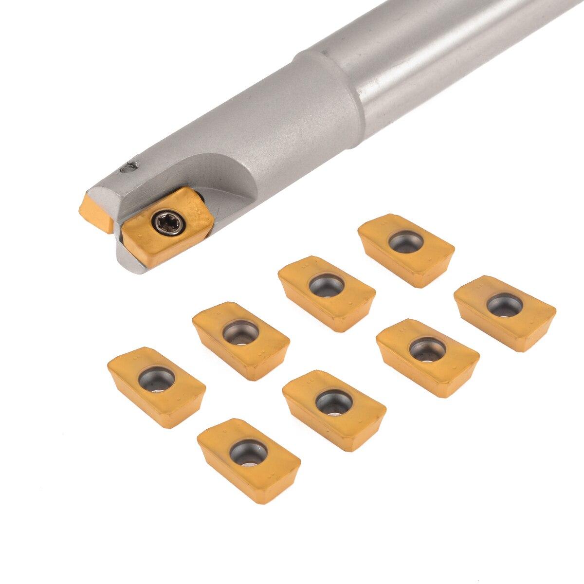 10PCS APMT1135PDERDP Insert 1PCS BAP 300R C19-20-150 Milling Cutter Holder