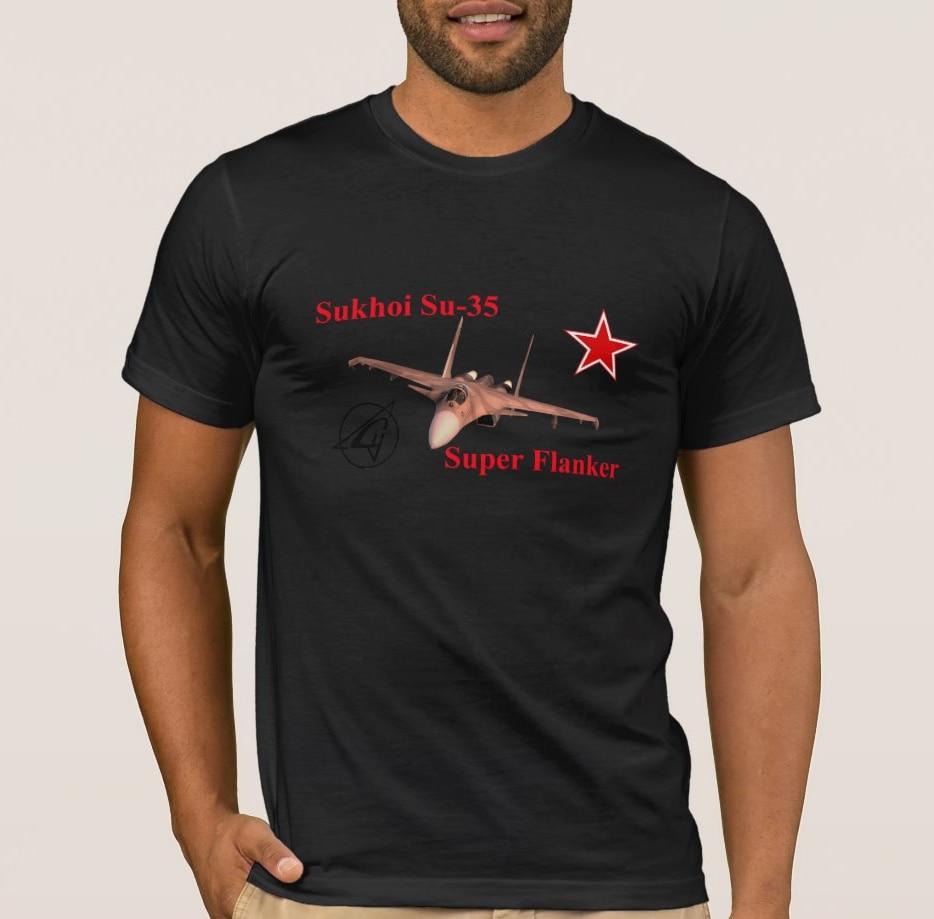 Sukhoi Su-35 Super Flanker Winged Archer Men's T Shirt
