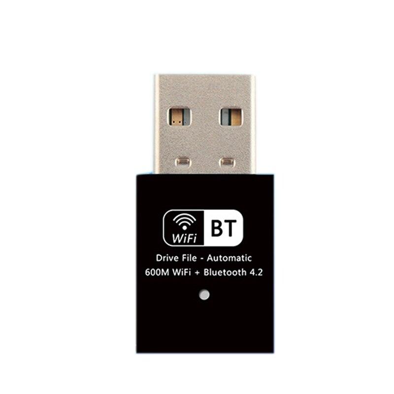 USB Wifi Wireless Network Card, AC600Mbps Dual Band 2.4G / 5G 802.11Ac USB Wireless Adapter For Windows 10/8.1/7/XP/Wireless Net