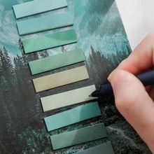 200 страниц маркеры естественного цвета указательные метки разделители
