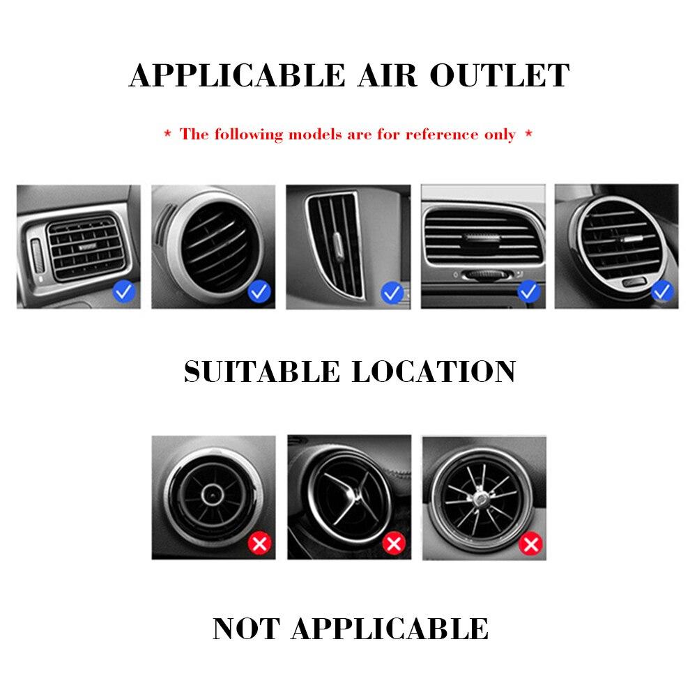 Universele Auto Mobiele Telefoon Houder Air Vent Mount Stand Geen Magnetische Mobiele Telefoon Houder Voor Peugeot 206 207 307 3008 2008 308 408 4