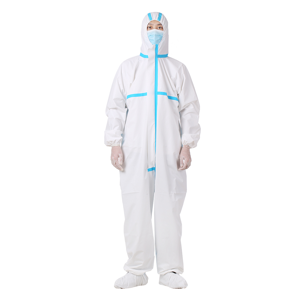 High Antibacterial Reusable Plastic Closures Isolation Suit Prevent Invasion of Virus Washable and Reusable Protective Clothing