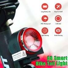 Умный велосипедный светильник с дистанционным управлением защитой