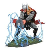 Art Museum Series Superhero Thor Cartoon Ver Resin Statue Action Figure Collection Model Toy Desktop Decoration X4522