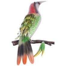 Bird-Pendant for Villa Garden Homestay Courtyard Colorful 1pc Decor Iron-Art Decor