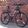 Горный велосипед  26 дюймов  21/24/27 скорости  для взрослых  с переменной скоростью  для студентов  роскошный внедорожный двойной дисковый тормо...