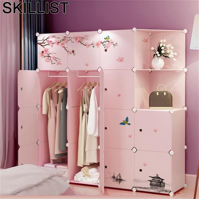 De Almacenamiento Rangement Chambre Mobili Per La Casa Armadio Guardaroba Cabinet font b Closet b font