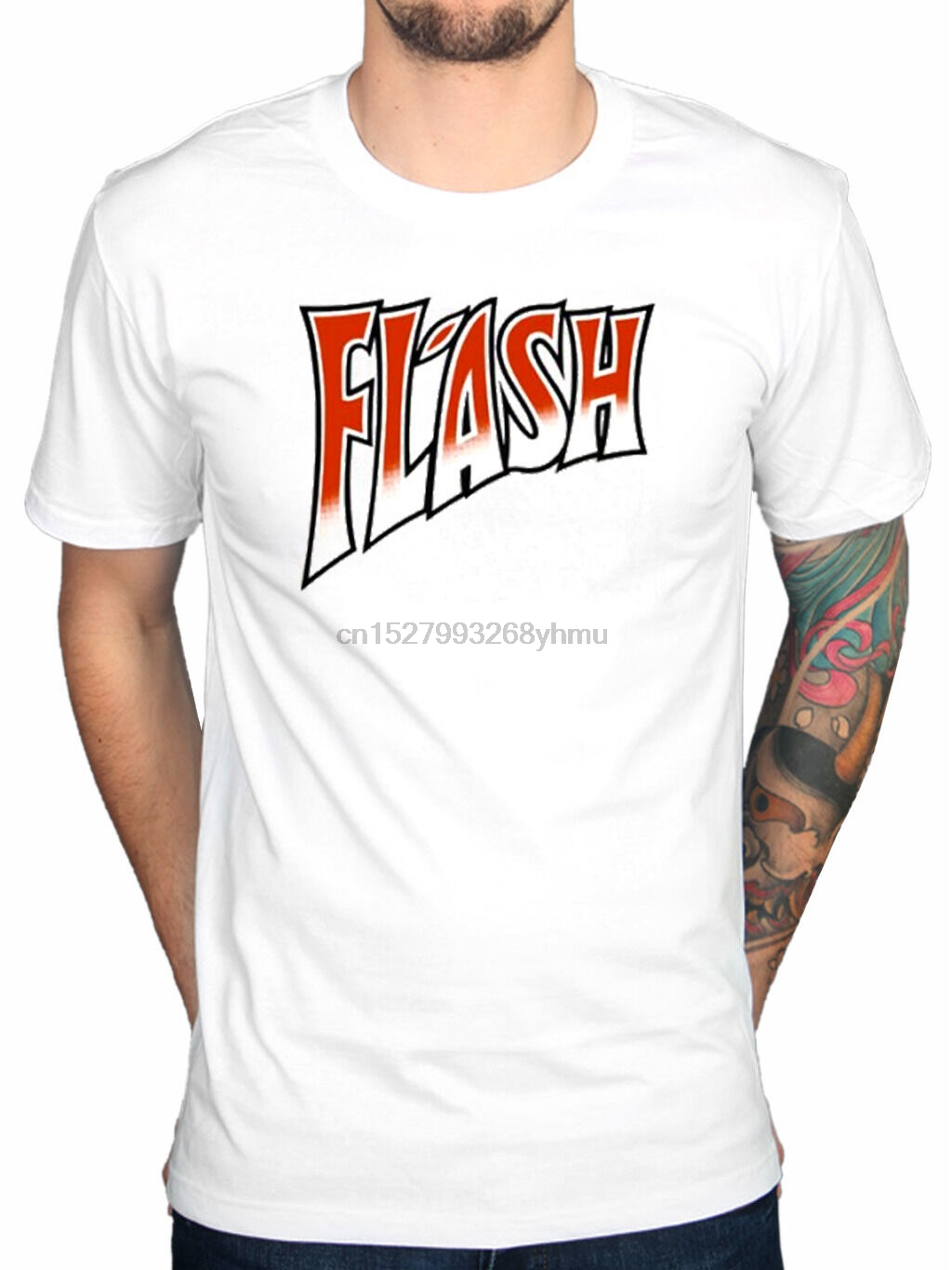 Official Queen Flash Gordon T-Shirt Flash Gordon Live Killers The Miracles(China)