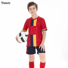 Personalized Kids jerseys Soccer Set Youth Child football kit Custom Survetement Shirts 2020 Clothing Training Uniforms Suit diy football soccer jerseys set men s football uniforms set custom soccer shirts and shorts adult sports sets suit 2019 2020 new