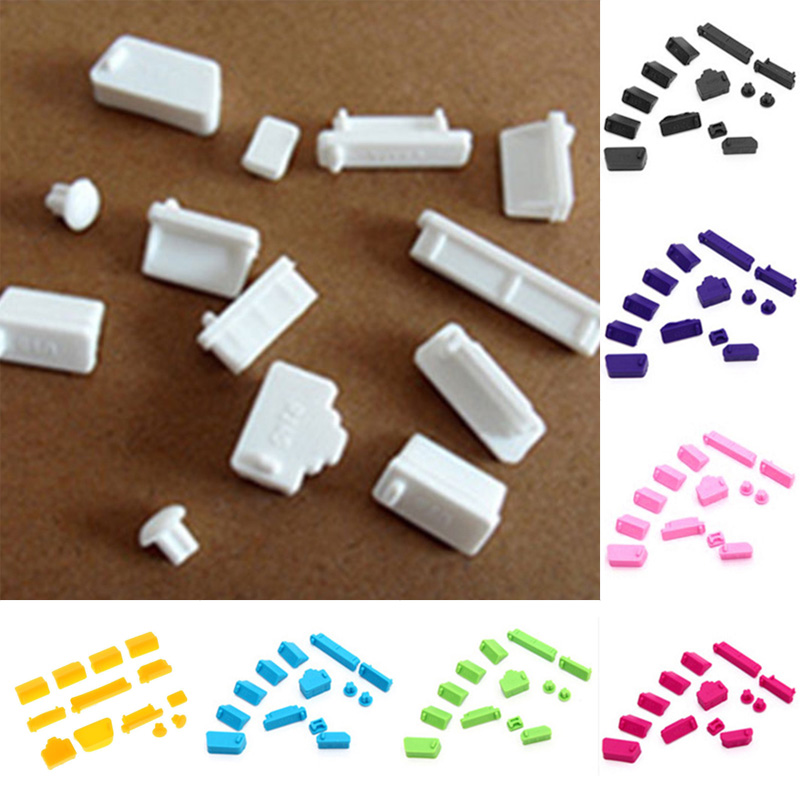5Pcs eSATA-B Clear Silicone Anti-dust Stopper//Plug for Protect Data Port Of PC