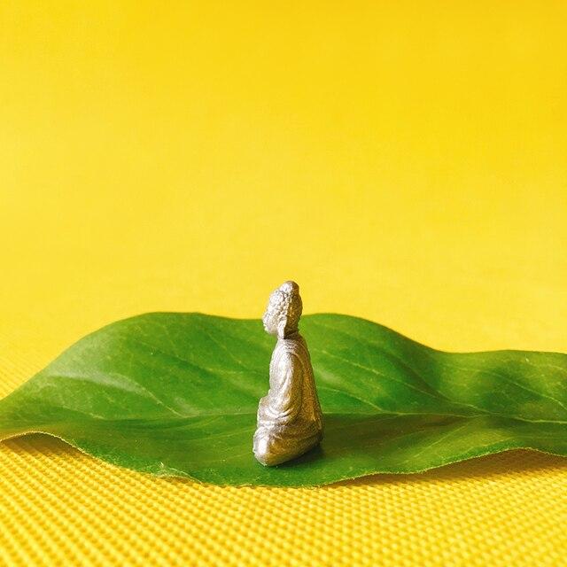 NEW~1Pcs Maitreya Buddha statue/fairy garden gnome/moss terrarium home decor/crafts/bonsai/bottle garden/miniature/figurine 4
