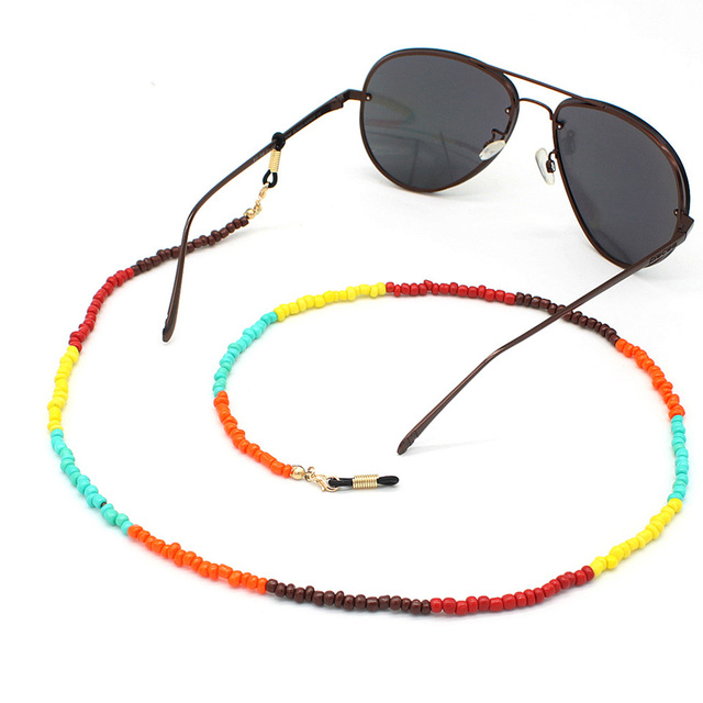 многоцветное стекло украшенное бусинами стеклянная цепочка солнцезащитные фотография