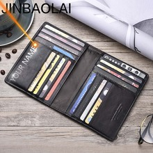 名彫刻男性財布スリム100% 本物の牛革カード財布薄型ヴィンテージ高品質カードホルダー男性財布