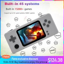 El Video oyunu konsolu ahududu Pi Retro CM3 Mini taşınabilir oyun oyuncu ön yükleme Retropie 45 simülatörü 15000 + oyunlar