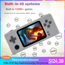 Handheld Video Game Console Raspberry Pi Retro CM3 Mini Draagbare Gaming Speler Pre Installeren Retropie 45 Simulator 15000 + games