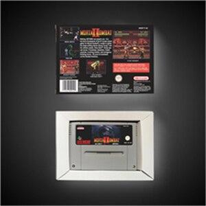 Image 2 - Mortal Kombat II 2   EUR Version Action Game Card with Retail Box