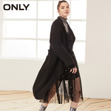 ONLY  Winter Loose Fit Drop-shoulder Double-Faced Woolen Coat | 11934S521