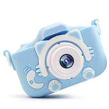 Birthday Gift With Protective Case Dual Lens Cartoon Digital Sports Children