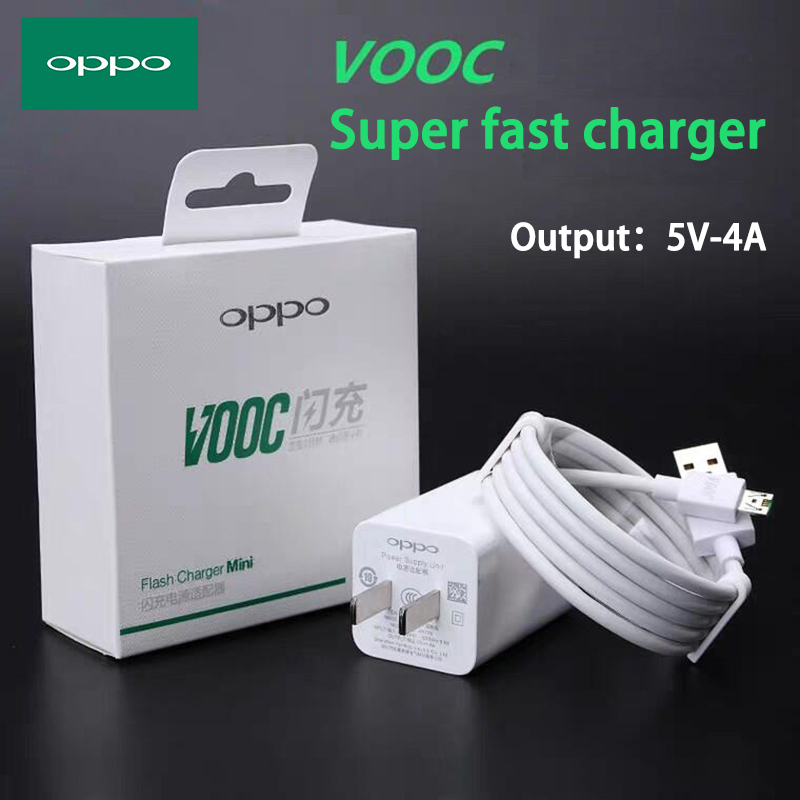 OPPO R11 Charger Flash Charge VOOC Micro <font><b>usb</b></font> / Type-c Cable Original <font><b>5V</b></font> 4A Fast Charging for R11s R9s R7s R15 A5s A3s R17 k3 k5 image