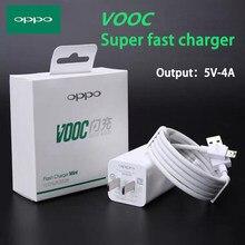 Oppo r11 cabo de carregamento flash vooc, cabo micro usb/tipo-c original 5v 4a, carregamento rápido para r11s r9s r7s r15 a5s a3s r17 k3 k5