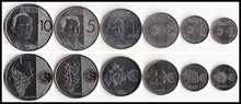 Philippines 6 Pieces/ Set Coins Asia New Original Coin Unc  Real Rare  Edition 2017-18 недорого