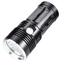 T6 Small Steel Flashlight Long Range High Power High Brightness Led Flashlight|Outdoor Tools|   -