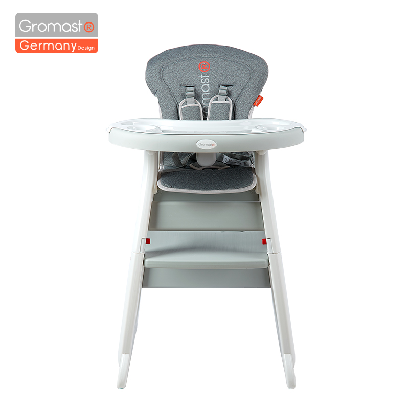 Gromast Multi Functional Child High Chair 3 In 1 Baby High Chair Booster Seat High Chair Baby Feeding Chair Kids Eating Table