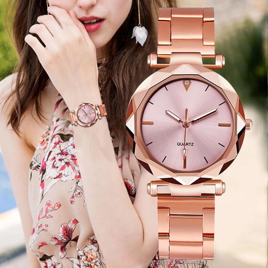 DUOBLA Luxury Women Watches Fashion Quartz Wristwatches Brand Women Watch Stainless Steel Band Geneva Watches Gifts For Women