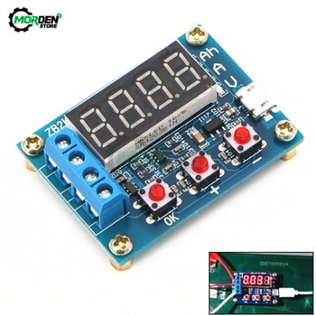 18650 Lithium Battery Power Supply ZB2L3 1.2V 12V Battery Tester LED Digital Resistance Lead-acid Capacity Discharge Meter color app battery tester electronic load 18650 capacity monitor indicator discharge charge usb meter dc 12v power supply checker
