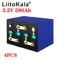 Battery-Pack Solar-Energy-Storage-System E-Scooter DIY Rechargeable 12v 280ah 4PCS Liitokala