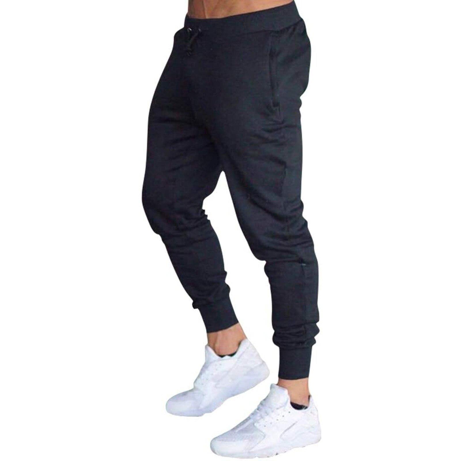 Осенние мужские спортивные штаны для бега, джоггеры, свободные прямые цилиндрические штаны для активного отдыха, тренировок в тренажерном ...