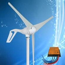 Высокая эффективность 400 Вт комплект генератора ветровой турбины, контроллер управления мощностью в комплекте, 10 лет гарантии