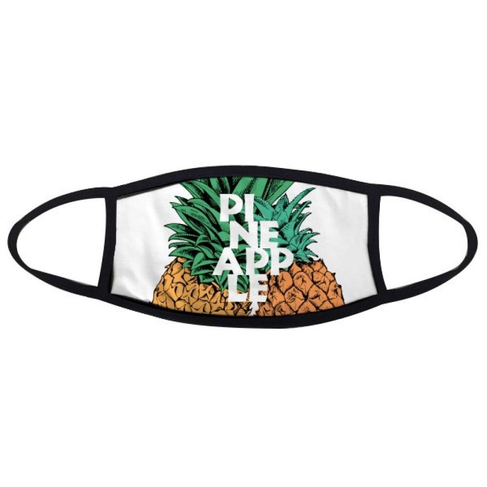 Headset Pineapple Sunglasses Fruit Face Anti-dust Mask Anti Cold Maske Gift