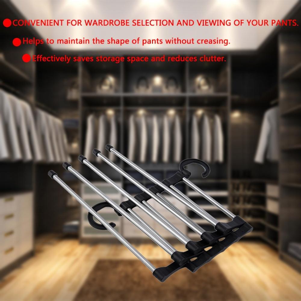 Новинка регулируемые брюки Галстук Шаль стойки для пояса шарф галстук вешалка держатель многофункциональный шкаф Органайзер