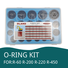 666 PCS O Ring Kit Oil Seal Gaskets For R 60 R 200 R 220 R 450 Excavator Repair Tools Rubber ring