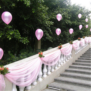 Image 5 - 10m 48cm gelin parti dekor düğün organze tül kumaş şeffaf yağma zemin perde rustik düğün dekorasyon parti olay