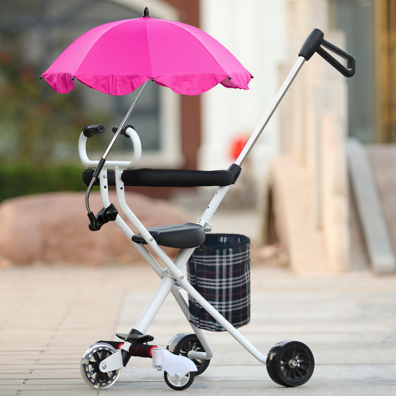 Take The Baby Out Walking Artifact Baby Children Tricycle Trolley Portable Folding Easy Kids Furniture