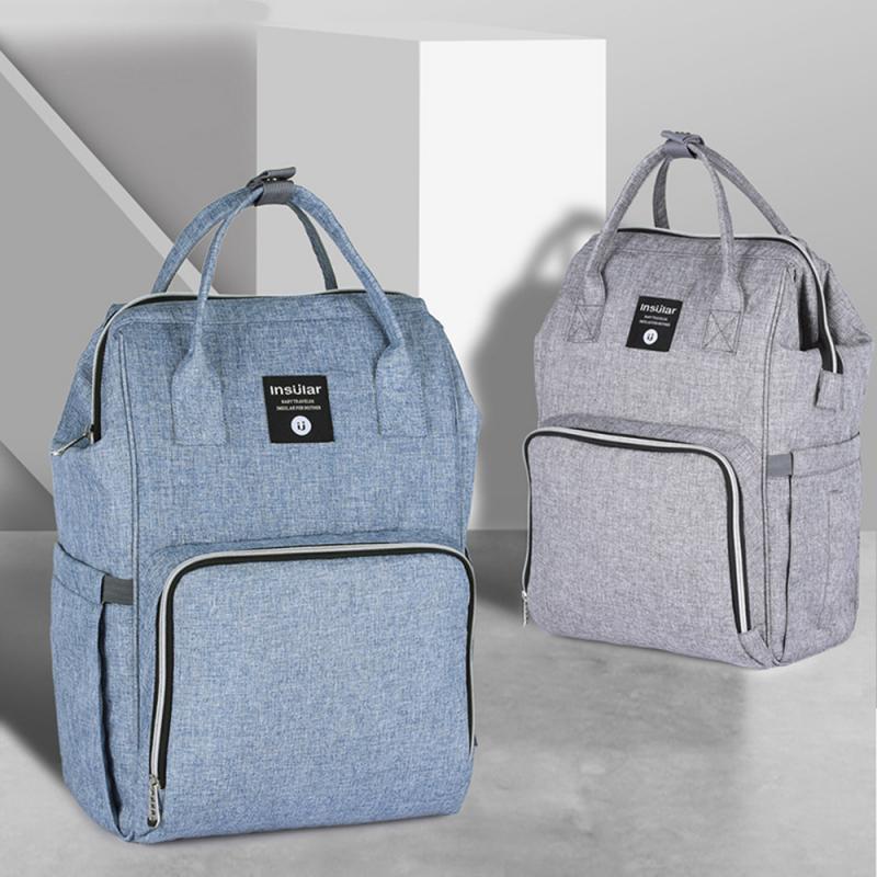 Multifunctional Diaper Bag and Mini Crib
