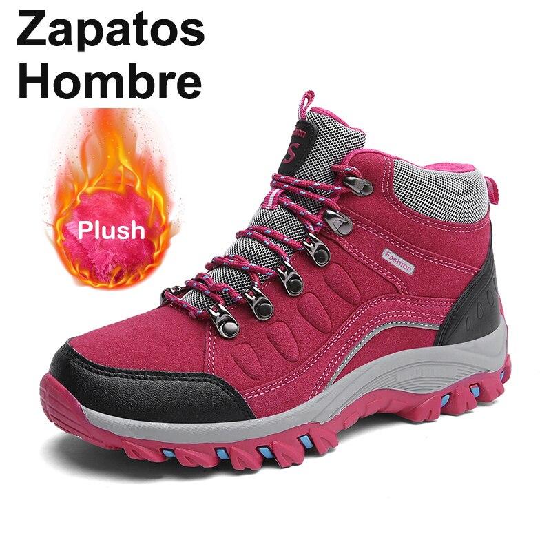 waterproof hiking shoes woman outdoor trekking boots climbing treking mountain women tracking...