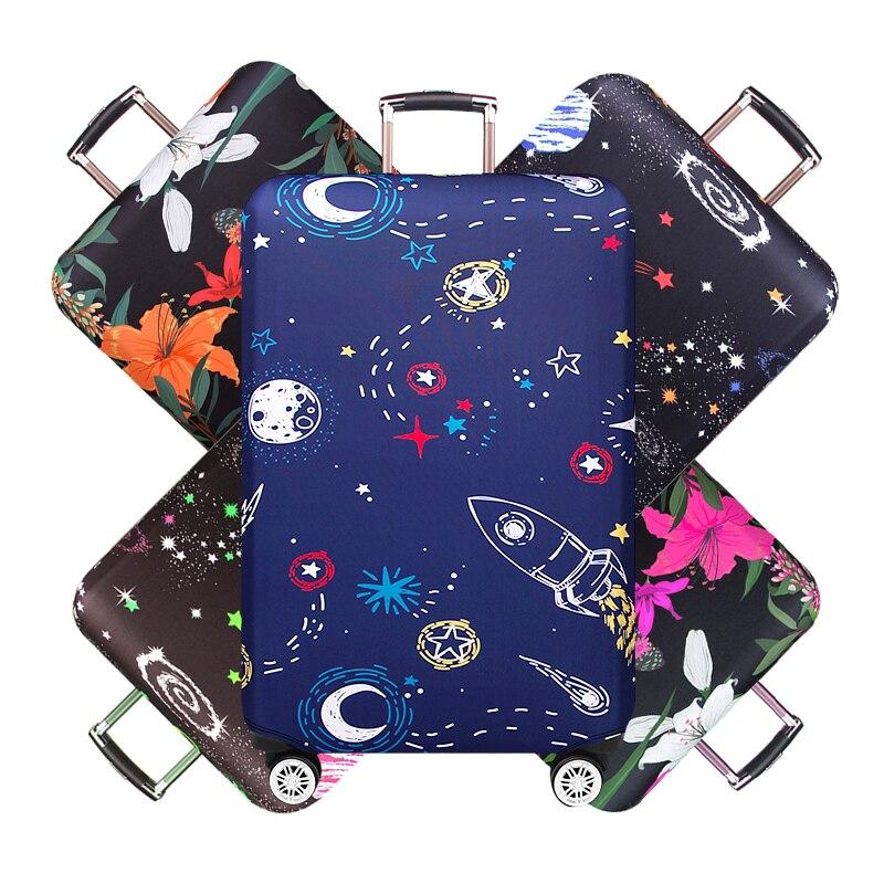 Cubierta de equipaje abstracta maleta de viaje traje Protector para 18-32 tamaño Trolley caso polvo viaje accesorios caja de elasticidad