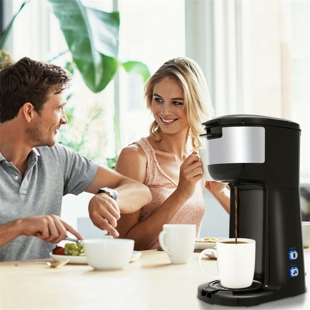 Portable Coffee Maker for Ground Coffee  2
