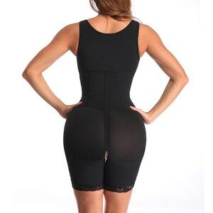 Image 4 - Kadın ince iç çamaşırı tek parça Bodysuit Shapewear bayan Underbust vücut şekillendirme iç çamaşırı artı boyutu bel eğitmen Butt kaldırıcı kalça