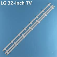 "630mm A1 A2 retroiluminación LED tiras para LG 32 ""TV 6916L-1440A 6916L-1439A 32LN540U-ZA 32LA621V LC320DUE-SFR1 LC320DXE-SFR1 32LN5400(China)"