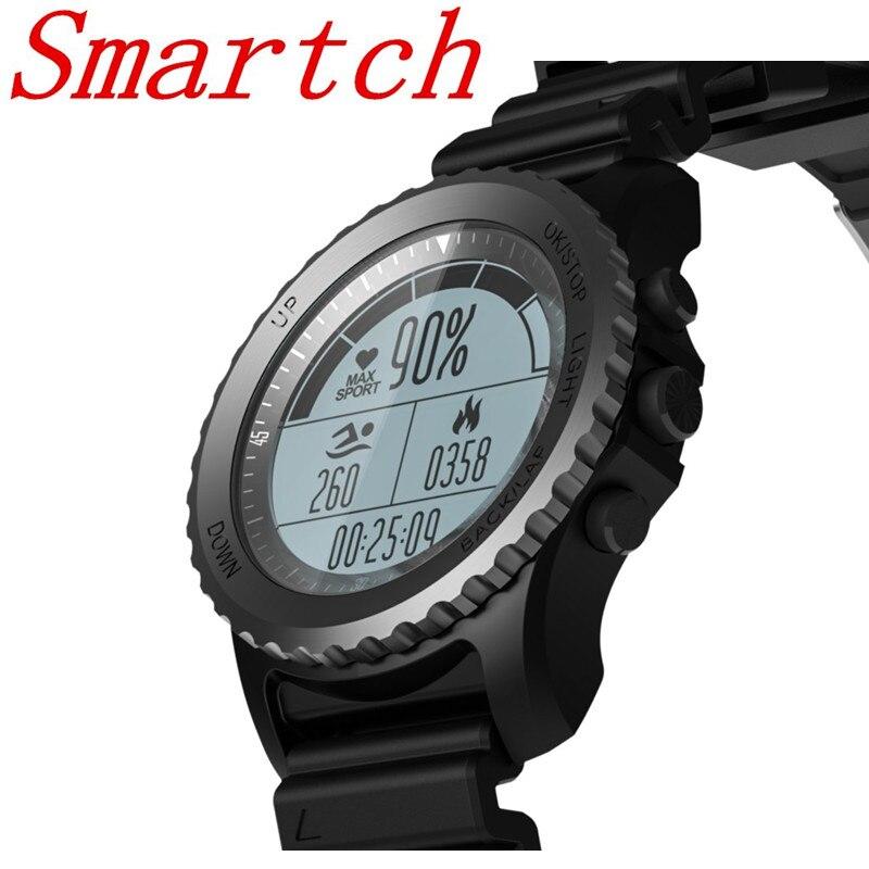 Smartch новые S968 водонепроницаемые IP68 Смарт часы Bluetooth спортивные часы Поддержка gps монитор сердечного ритма мульти спортивные умные часы
