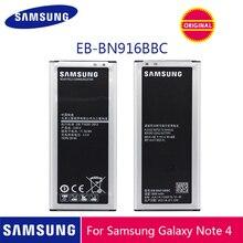SAMSUNG Original Phone Battery EB-BN916BBC 3000mAh For Samsung Galaxy NOTE4 N9100 N9106W N9108V N9109V Note 4 Batteries + NFC стоимость