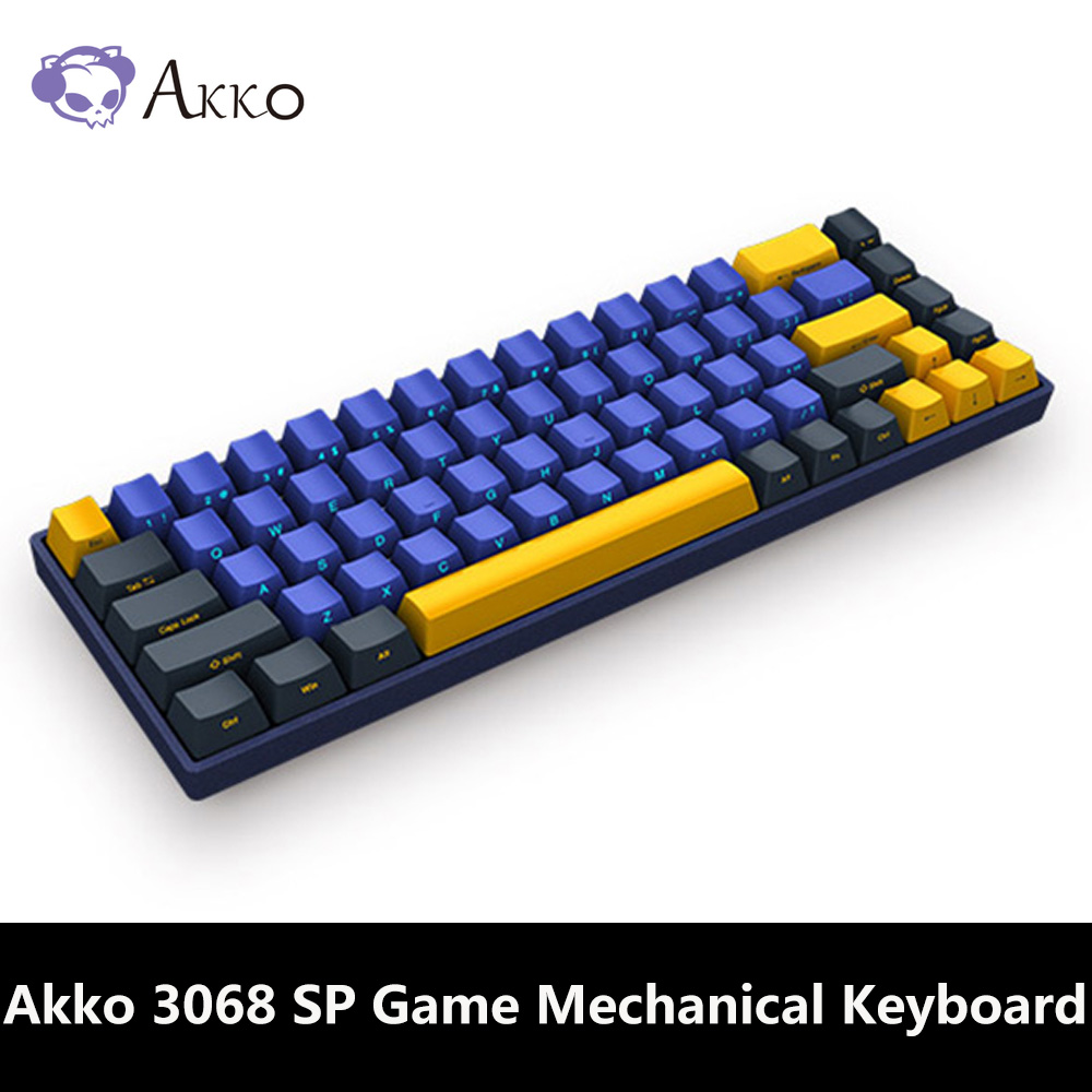 Akko Mechanical-Gaming-Keyboard Programmable 68-Keys Cherry-Switch Skyline 3068 TYPE-C